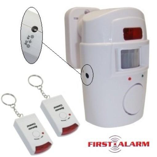 alarmanlage 2 x fernbedienung haus hausanlage alarm laut bewegungs melder sensor 8711252370972. Black Bedroom Furniture Sets. Home Design Ideas
